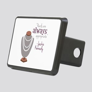 Pearls are always appropriate Rectangular Hitch Co