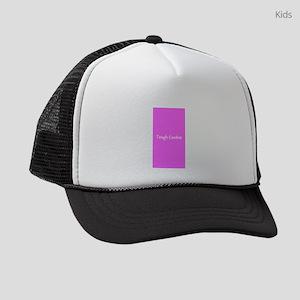 Tough Cookie Pink Breast Cancer 4 Kids Trucker hat