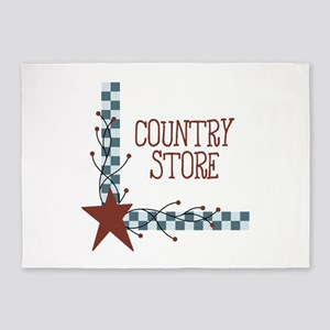 COUNTRY STORE 5'x7'Area Rug