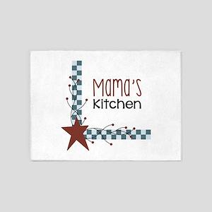 Mamas Kitchen 5'x7'Area Rug