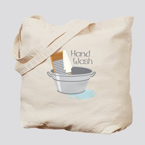 Hand Wash Tote Bag