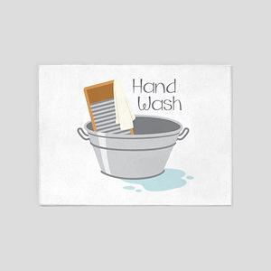 Hand Wash 5'x7'Area Rug