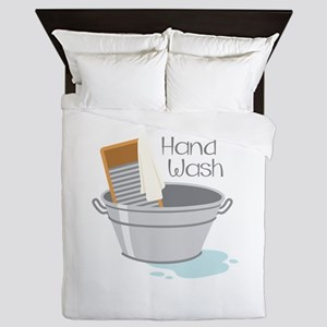 Hand Wash Queen Duvet