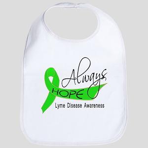 Lyme Disease Always Hope Bib