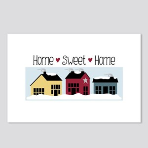 Home + Sweet + Home Postcards (Package of 8)