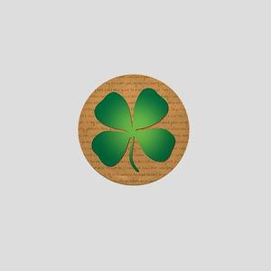 DUBLINER FOUR LEAF CLOVER Mini Button