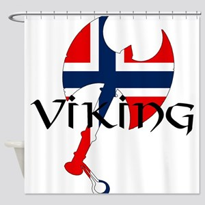 Norway Viking Shower Curtain