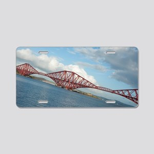angled forth bridge Aluminum License Plate