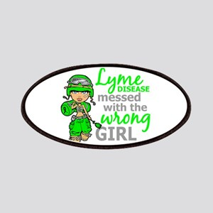 Lyme Disease Combat Girl Patches