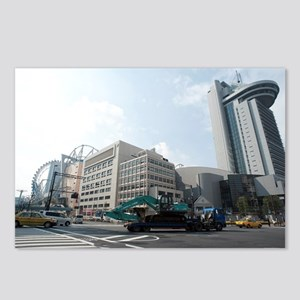 tokyo dome city Postcards (Package of 8)