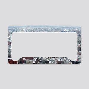Sapporo panoramic License Plate Holder