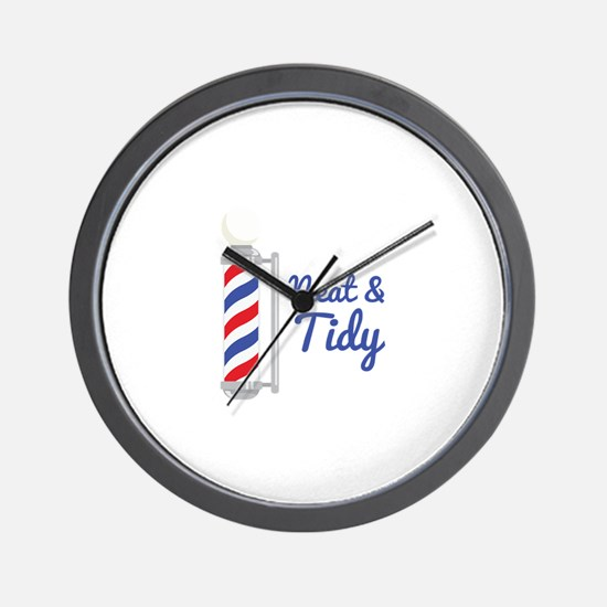 Neat Tidy Wall Clock