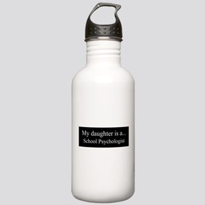 Daughter - School Psychologist Water Bottle