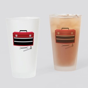 Tool Box Drinking Glass