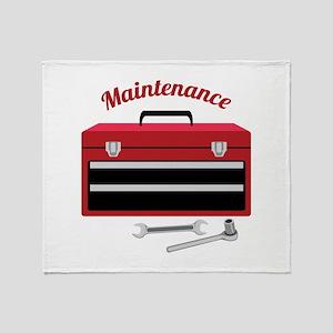 Maintenance Throw Blanket