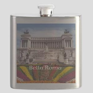 Customizable Rome Italy Souvenir Flask