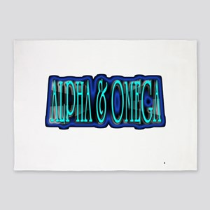 Alpha Omega 5'x7'Area Rug