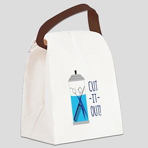 Cut-It-Out Canvas Lunch Bag