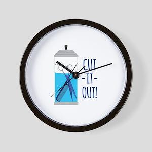 Cut-It-Out Wall Clock