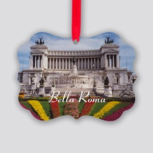 Customizable Rome Italy Souvenir Picture Ornament