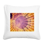 Vision of Liberty Square Canvas Pillow