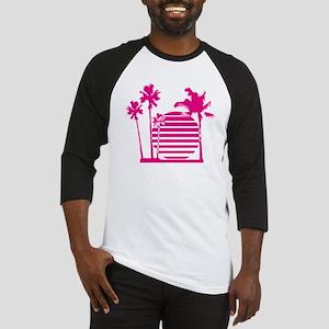 Palm beach - bananaharvest Baseball Jersey