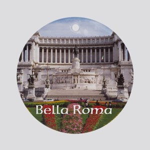 Customizable Rome Italy Souvenir Ornament (Round)