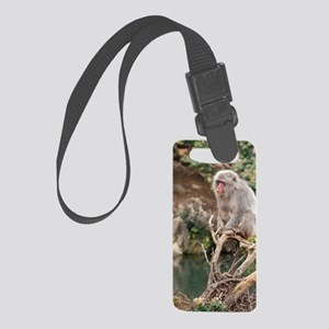 sitting in a tree Small Luggage Tag