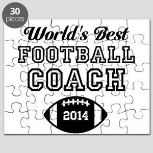 Worlds Best Football Coach Puzzle