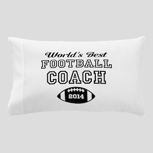 Worlds Best Football Coach Pillow Case