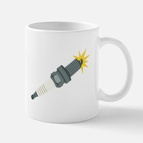 Automotive Spark Plug Mugs