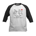 Suzuki Violin Bunnies Kids Baseball Jersey