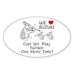 Suzuki Violin-Suzuki One More Time Sticker