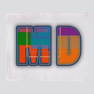 MD Throw Blanket