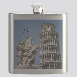 Customizable Leaning Tower of Pisa Souvenir Flask