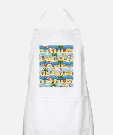 summer owls Apron