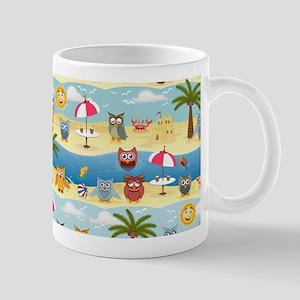 summer owls Mugs