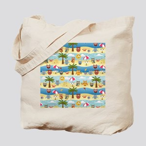 summer owls Tote Bag