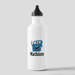 Mathlete calculator Water Bottle
