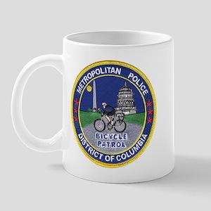 DC Police Bicycle Patrol Mug