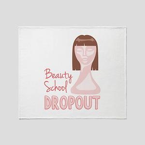 Beauty School Dropout Throw Blanket