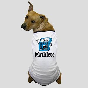 Mathlete calculator Dog T-Shirt