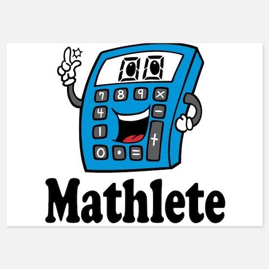 Mathlete calculator Invitations