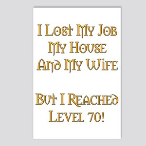 Level 70 V1 Postcards (Package of 8)