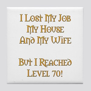 Level 70 V1 Tile Coaster