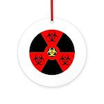 Radioactive Bio-hazard Extreme Ornament (Round)