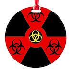 Radioactive Bio-hazard Extreme Ornament