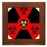 Radioactive Bio-hazard Extreme Framed Tile