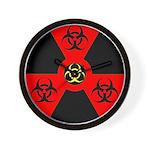 Radioactive Bio-hazard Extreme Wall Clock