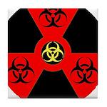 Radioactive Bio-hazard Extreme Tile Coaster